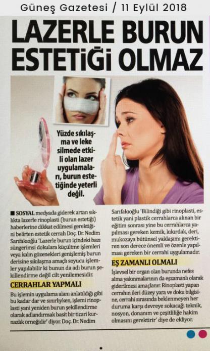 güneş gazetesi nedim sarıfakıoğlu